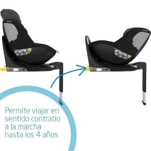 silla de coche a contramarcha