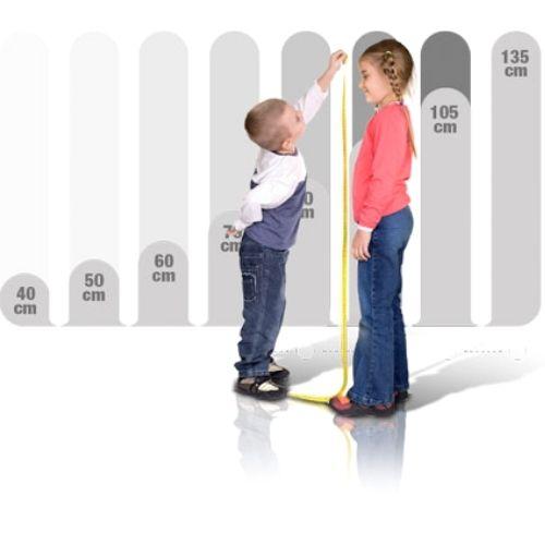 altura de los niños para la silla del coche